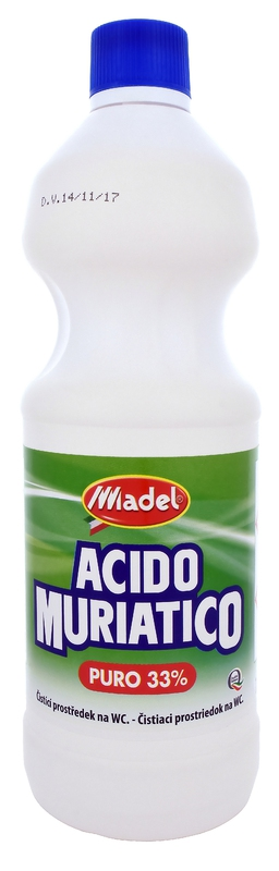 MADEL ACIDO MURIATICO 33% 1000 ml čistič WC