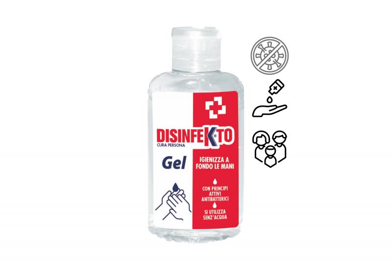 DISINFEKTO Gel 100 ml alkoholový gel na ruce