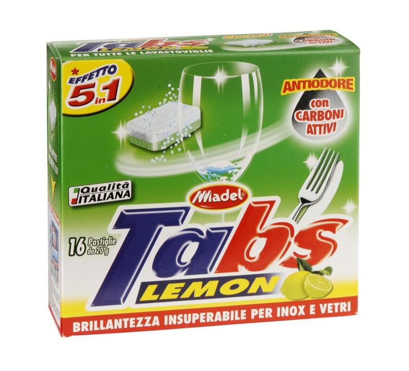 MADEL TABS LAVASTOVIGLIE 5 in 1 tablety do myčky
