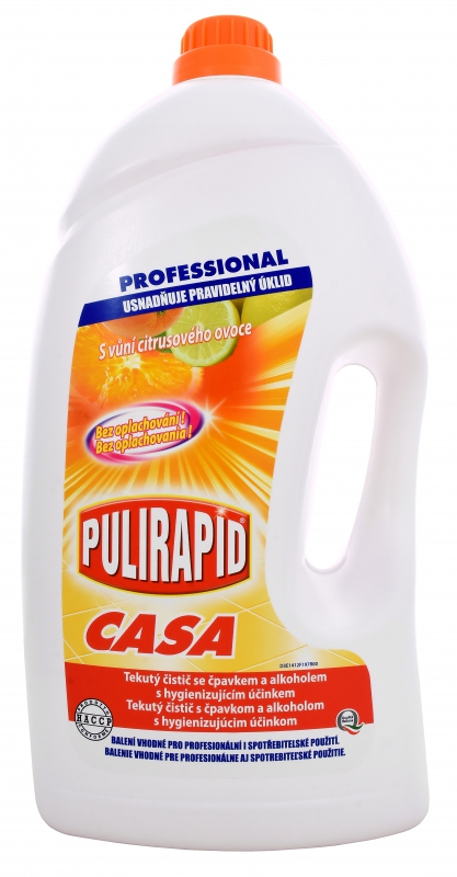 PULIRAPID CASA AGRUMI 5l čistič na tvrdé povrchy