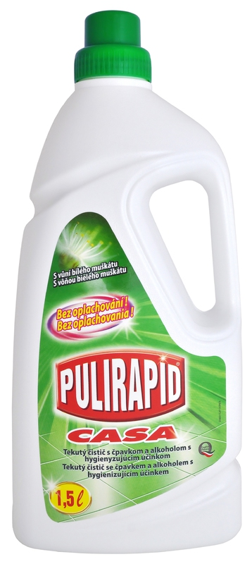 PULIRAPID CASA muškát 1500 ml čistící prostředek