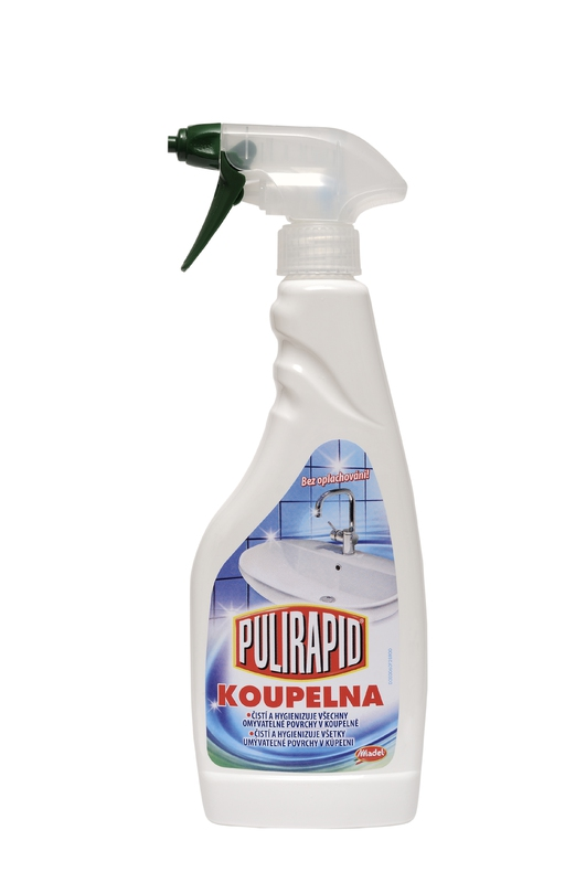 PULIRAPID KOUPELNA 500 ml čistič koupelen