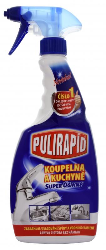 PULIRAPID KOUPELNA A KUCHYNĚ 500 ml