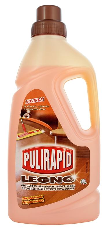 PULIRAPID LEGNO 1000 ml čistič na dřevo a lamináty