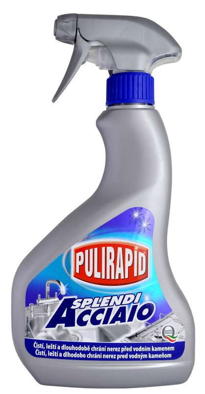 PULIRAPID SPLENDI na nerez 500 ml