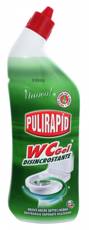 PULIRAPID WC GEL 750 ml čistič WC