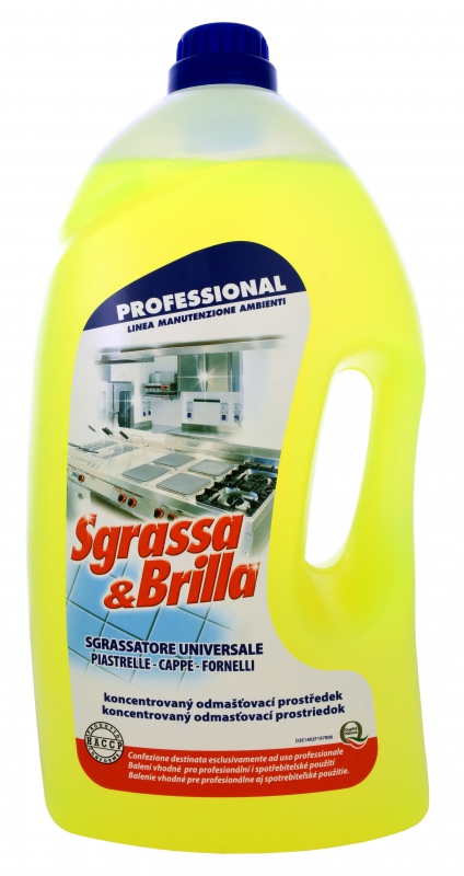 SGRASSA BRILLA UNIVERSALE 5l odmašťovač
