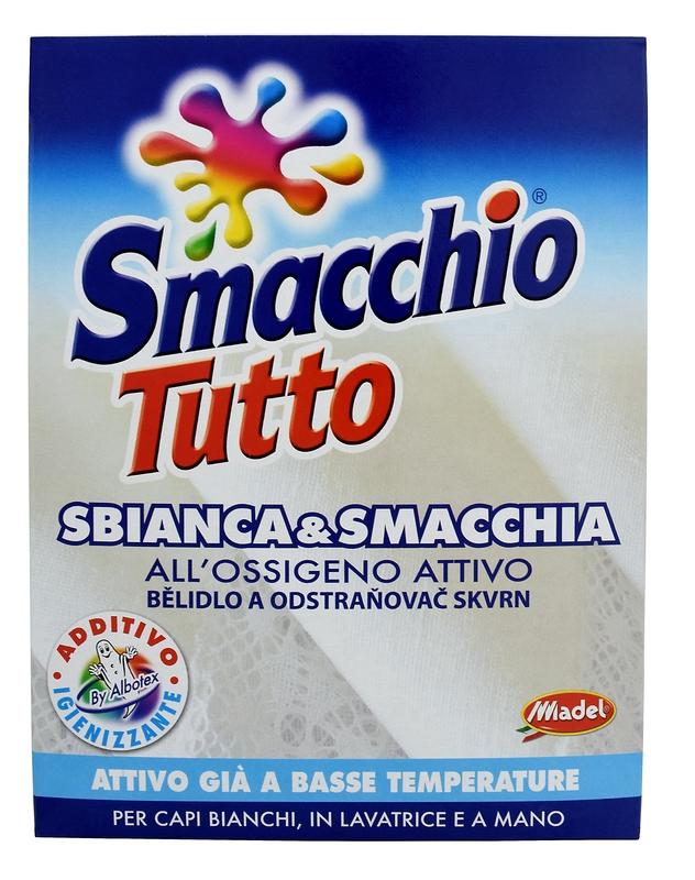 SMACCHIO TUTTO bělící účinek 1 kg odstraňovač skvrn