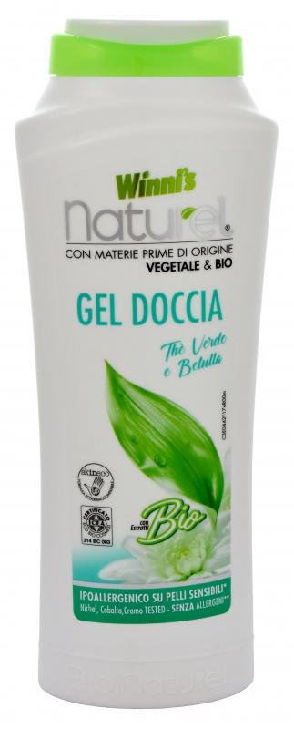 WINNI´S NATUREL zelený čaj 250 ML sprchový gel