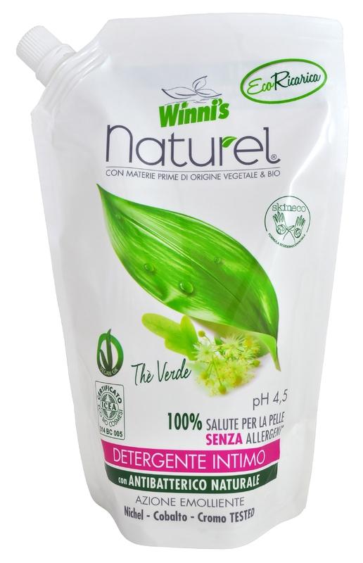 WINNI´S NATUREL zelený čaj 500 ML intimní mýdlo