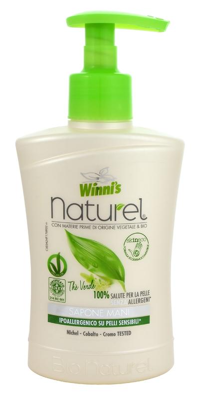 WINNI´S NATUREL zelený čaj 250 ML tekuté mýdlo