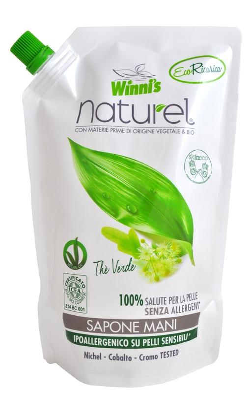 WINNI´S NATUREL zelený čaj 500 ML tekuté mýdlo