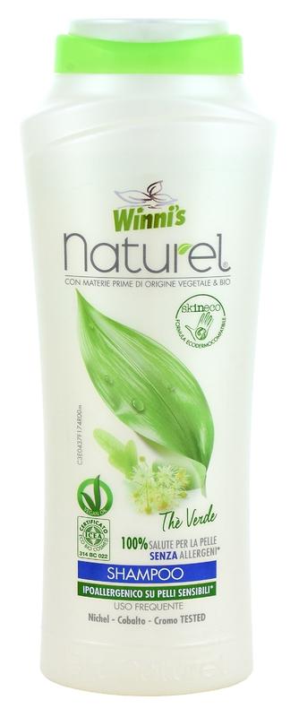 WINNI´S NATUREL zelený čaj 250 ML šampón