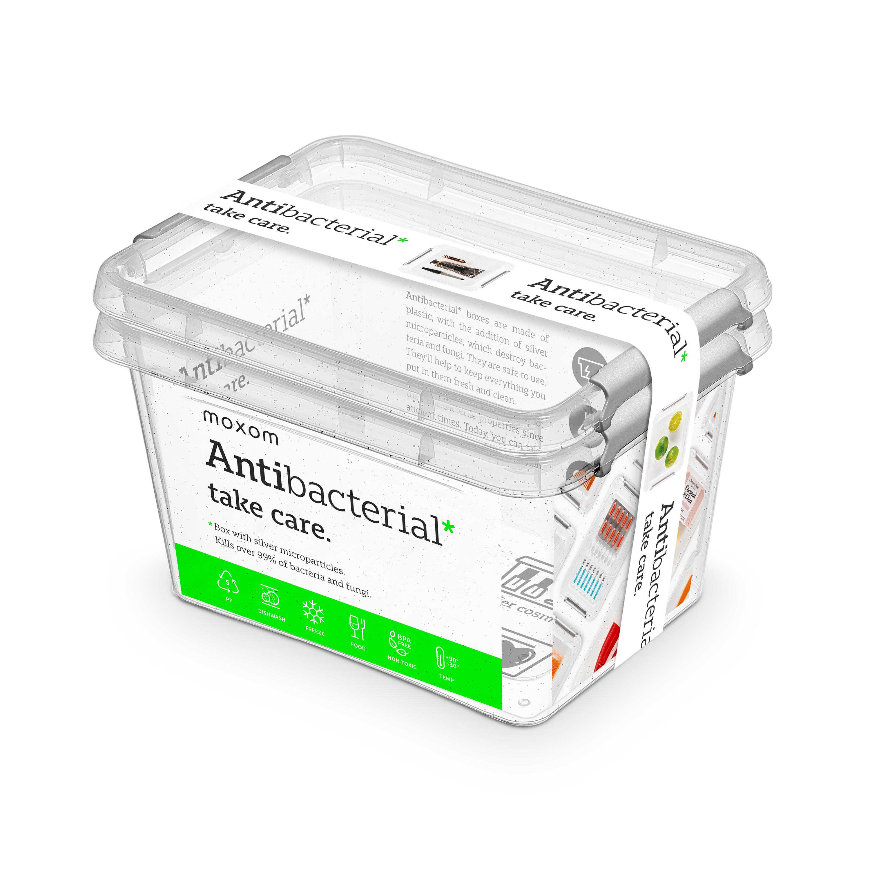 antibakter.box  2,0 l -sada-2ks, 19,5x15x12,5cm, t