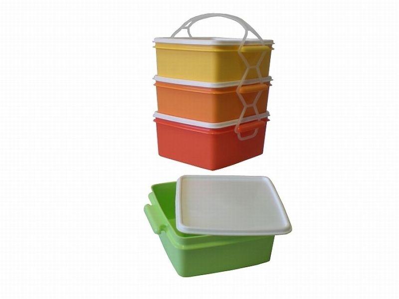 jídlonosič 3D (2x1,2l+1,4l) KOMBI, ČTVERCOVÝ