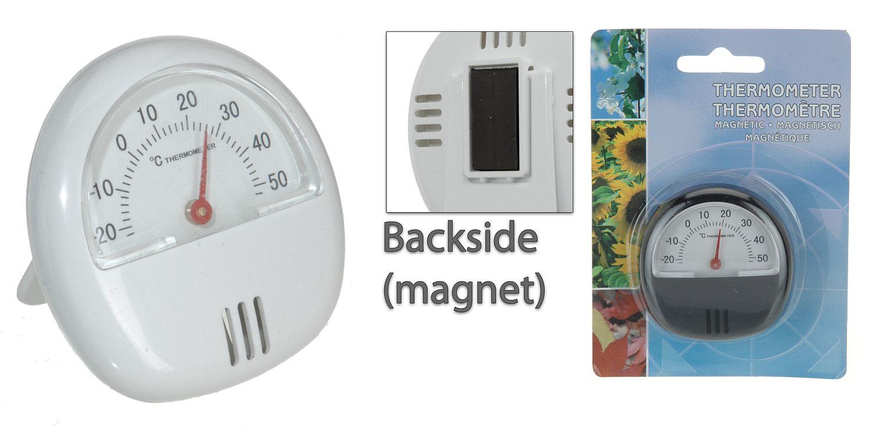 teploměr   d 5,5cm s magnetem, -20°C+50°C, univ.