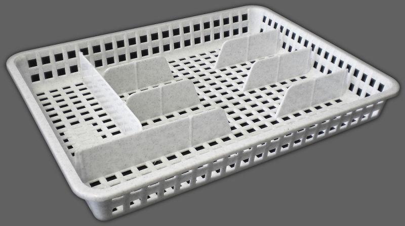 příborník 34,5x26x4,5cm, šir., 5přihr., plast