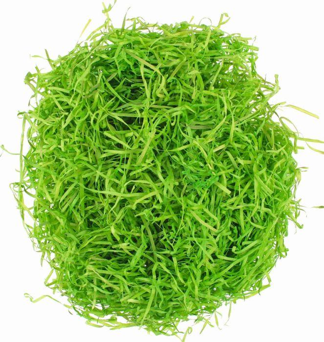 dekorace TRÁVA zelená 50g, dřevěná