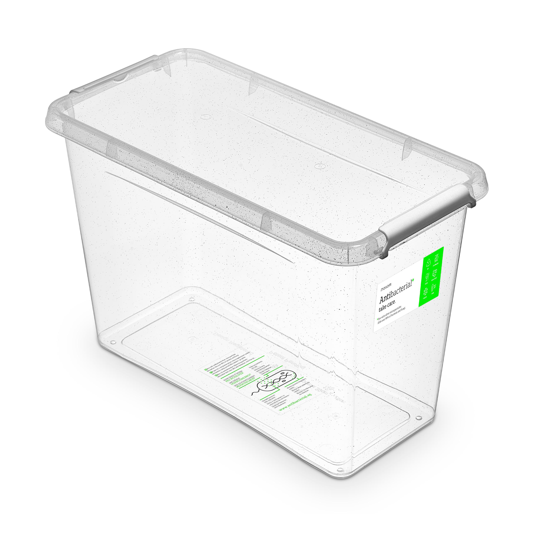 antibakter.box 13,0 l 40x20x26cm,transp.plast