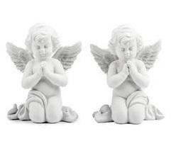anděl 11cm sádra/cement