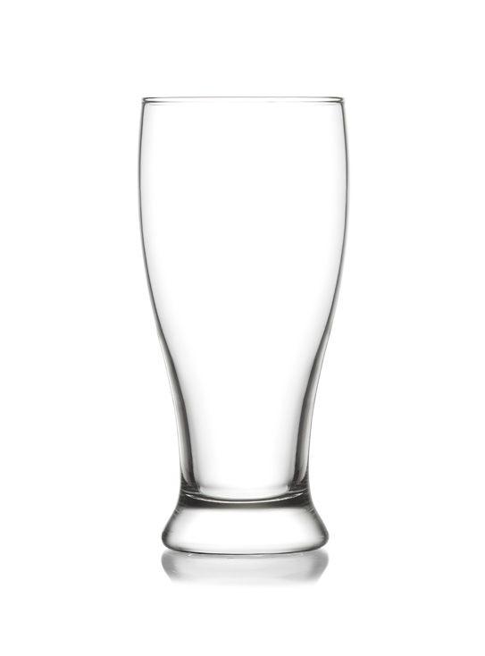 sklen. 565ml, 6ks, BROTTO, d8,1,v17,8cm, pivo