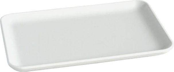 podnos 15x10cm, bílý melamin