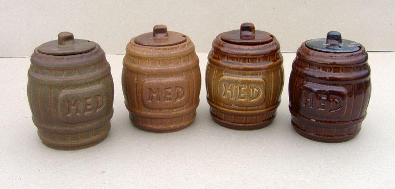 medák soudek na med keramický