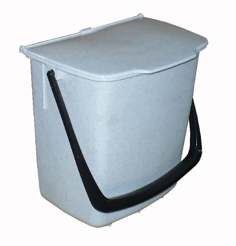 koš odp. 8l kbelík univ.bílý 22x15x29cm závěs