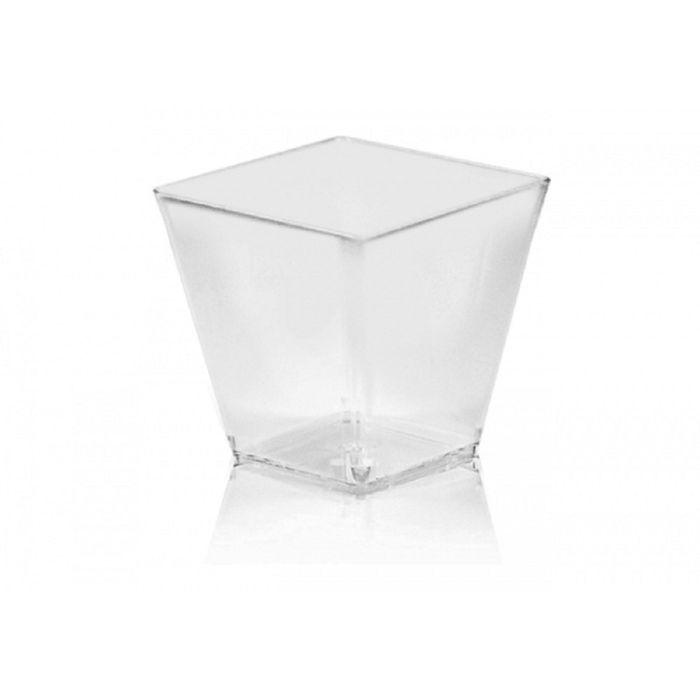 pohárek 100ml-50ks-FINGERF. 5,9x5,9x5,4cm, plast