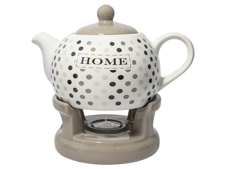 čajník 1,0l HOME, BL-T-4, s ohřívačem, keramika