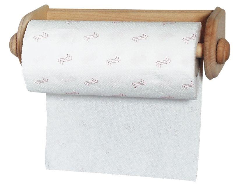 držák pap.utěrek-30cm-dřevo