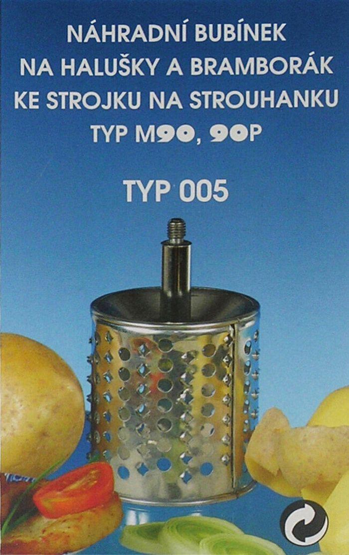ND-bubínek č.5 syr.brambor M90