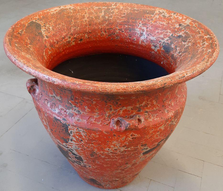 váza K 2C oranž 40x44cm, keramika