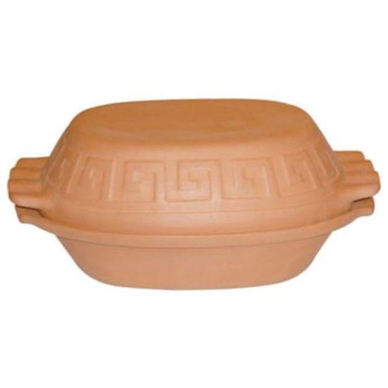hrnec 4,5l římský neglazovaná keramika