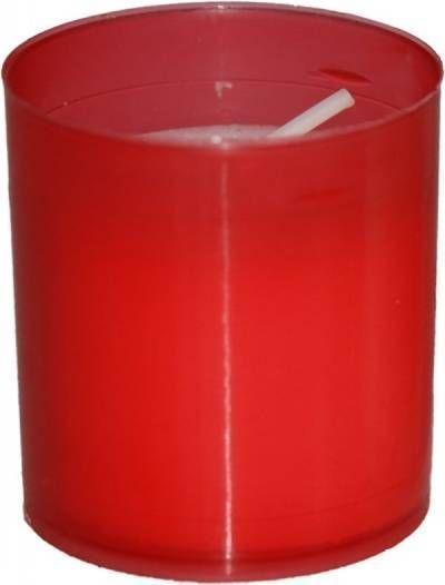 svíčka  4ks WK60 55g, červená, hřbitovní