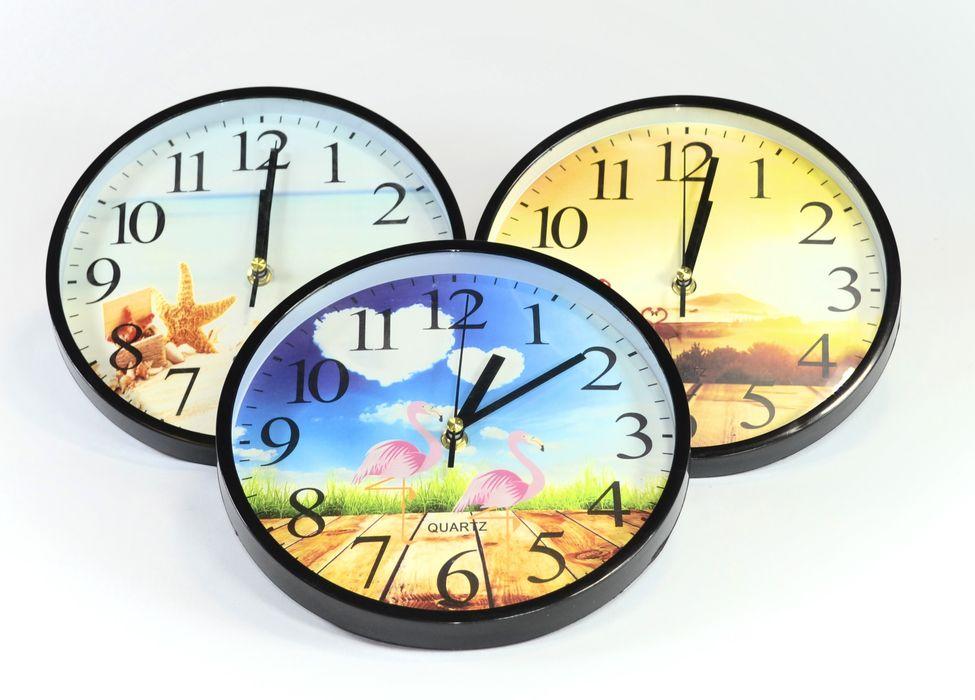 hodiny d23cm, 3DEKORY, PLAMEŇÁCI a JINÉ