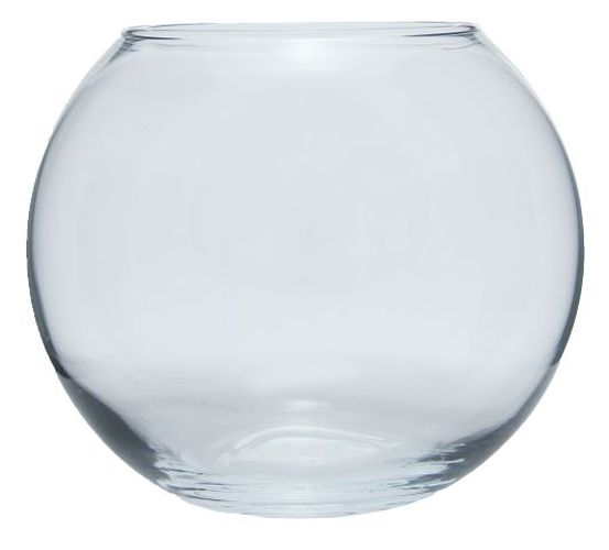 váza d10,3cm KOULE, sklo, Flora
