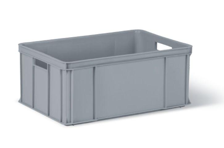 přepravka 60x40x25,0cm 30kg ORIG.. šedá 1