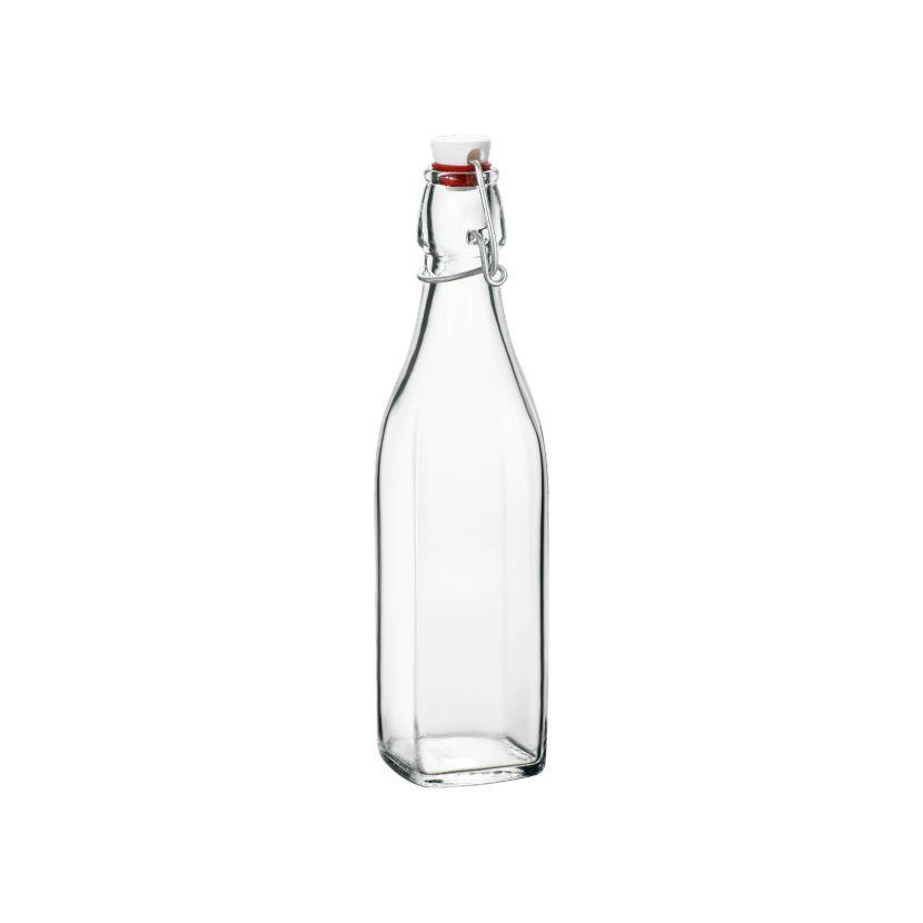 láhev 0,50l hran.SWING, patent.uz., sklo