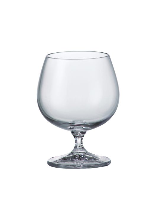 sklen. 250ml, 6ks, FALCO cognac