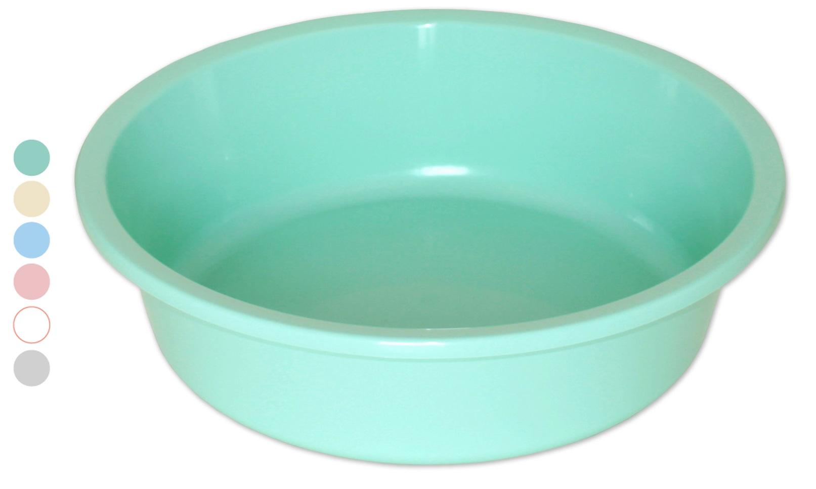 umývadlo 10,0l, d41,5 v.12cm, plast
