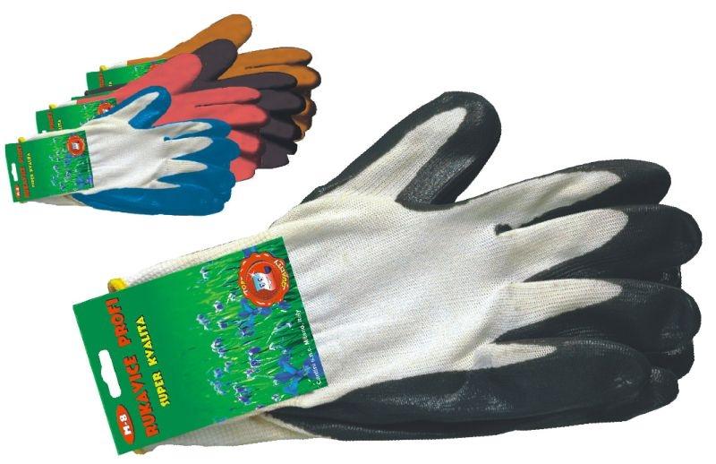 rukavice 1 pár, PROFI,  L, univ. zahradní