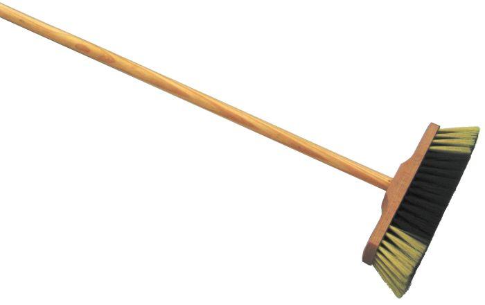 smeták 5141/631 nelak. s dřev.holí 130cm