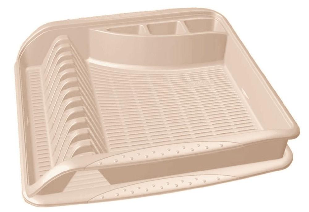odkapávač 39,5x39,5x8cm,krém,na nádobí,plast