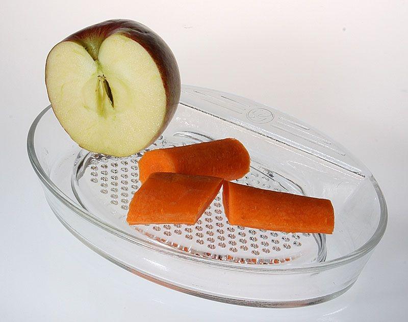 struhadlo na jablka sklo 21x14cm