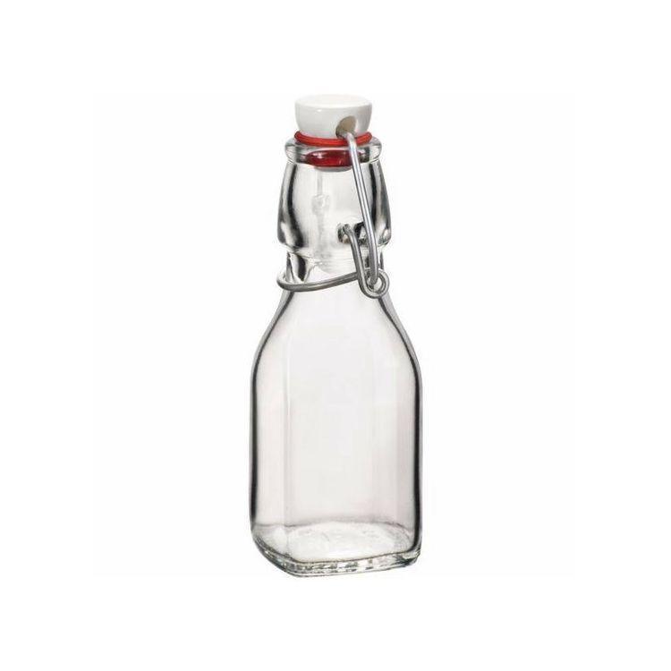 láhev 0,125l hran.SWING, patent.uz., sklo