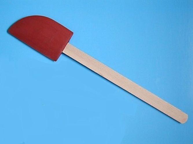 stěrka kuch. 41,5cm, 12x7,5cm, guma velká, dř.ruko