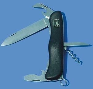 nůž 115-NH-5/AK kapes.zavír./pojist., NR/plast
