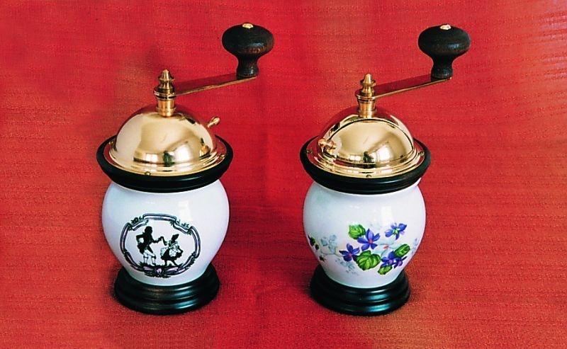 mlýnek MOZART na kávu porcelán