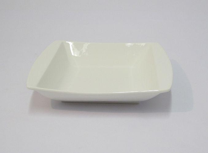 miska 20,5x20,5cm, tal.hluboký, PURA, porcelán